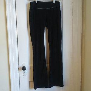 BCBG Black Velour Pants